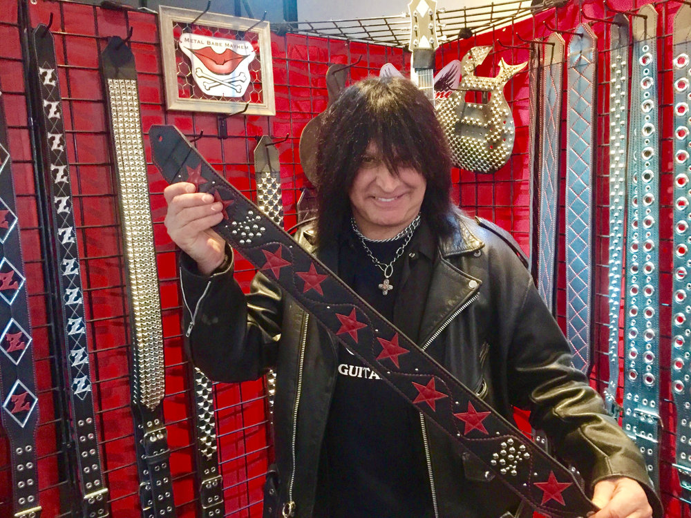 NAMM 2017 - Michael Angelo Batio