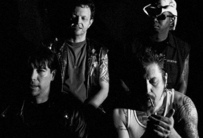 Clockwise from Left to Right: Billy Gray, Terry Ivan,Nik Savage, Bruneau.