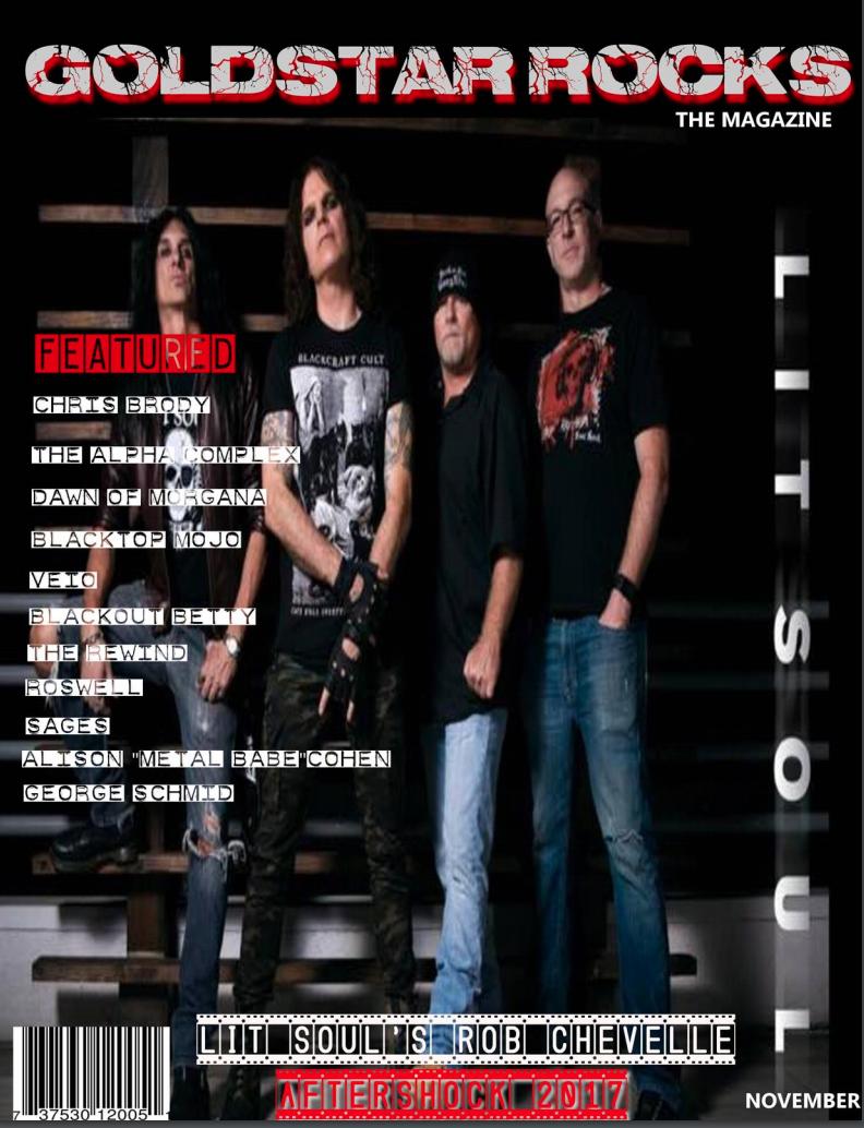 Goldstar Rocks The Magazine Nov 2017