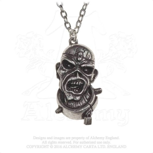 IRON MAIDEN PIECE OF MIND PENDANT -