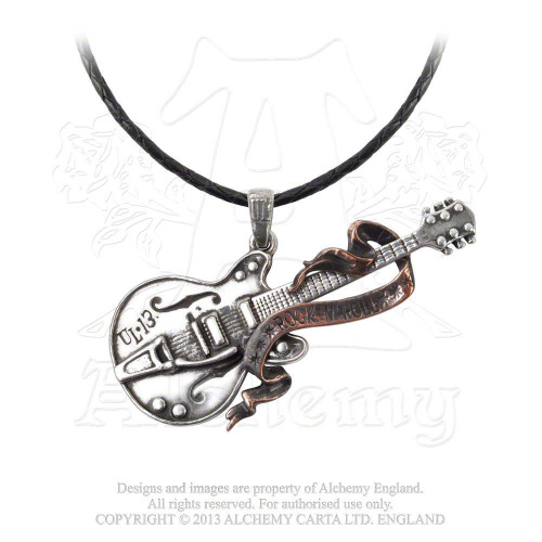 STEEL GUITAR NECKLACE -