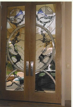10 ft Doors with Custom Stained Glass-305x450.jpg