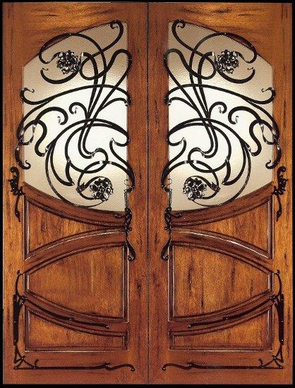 Art Nouveau Doors Shed Brand Studios