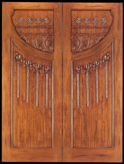 Art Nouveau Doors 009-416x550.jpg & Art Nouveau Doors \u2014 Shed Brand Studios