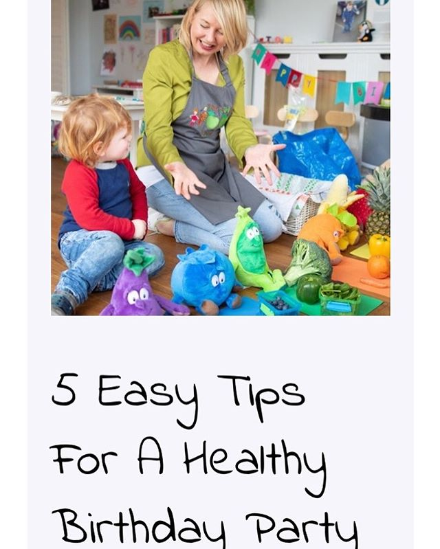 My latest blog, 5 tips for a healthy birthday party for your kids,  might see some eye rolling 🙄. I'm not saying not to have treats at kids parties (I'd have to leave the country I think, if I said that ✈️ 👋🏻). I'm just advising a more measured approach when it comes to sweets and cakes and buns and jellies and lollipops and ice cream and crisps and fizzy drinks and more cake - and the birthday cake! 🍫🍰🍧🎂🍭🍬. But the best tip of all is to get us to come along and do a lovely healthy eating workshop at your party while you prepare the fruit and veggie platters! Apologies to all the lovely clowns 🤡 and magicians 🎩 out there but there's a new party gig in Dublin town! 🥬🥒🥦🥕🌽 DM for details - blog in bio!