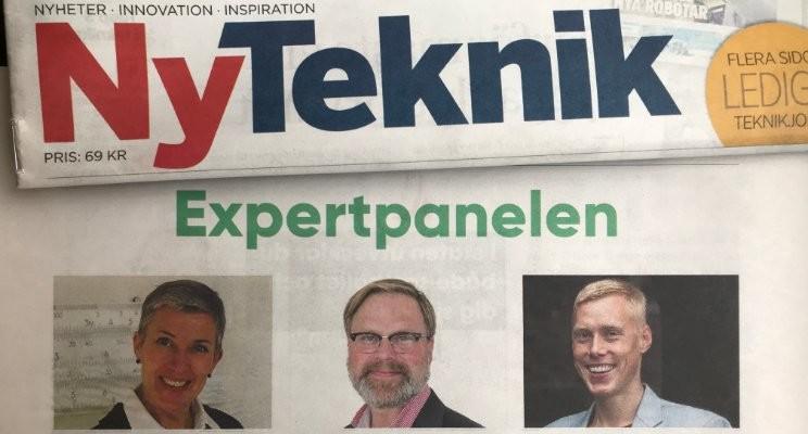 Foto från vänster: Annelie Anhelm, Håkan Bäckström och Tobias Porserud