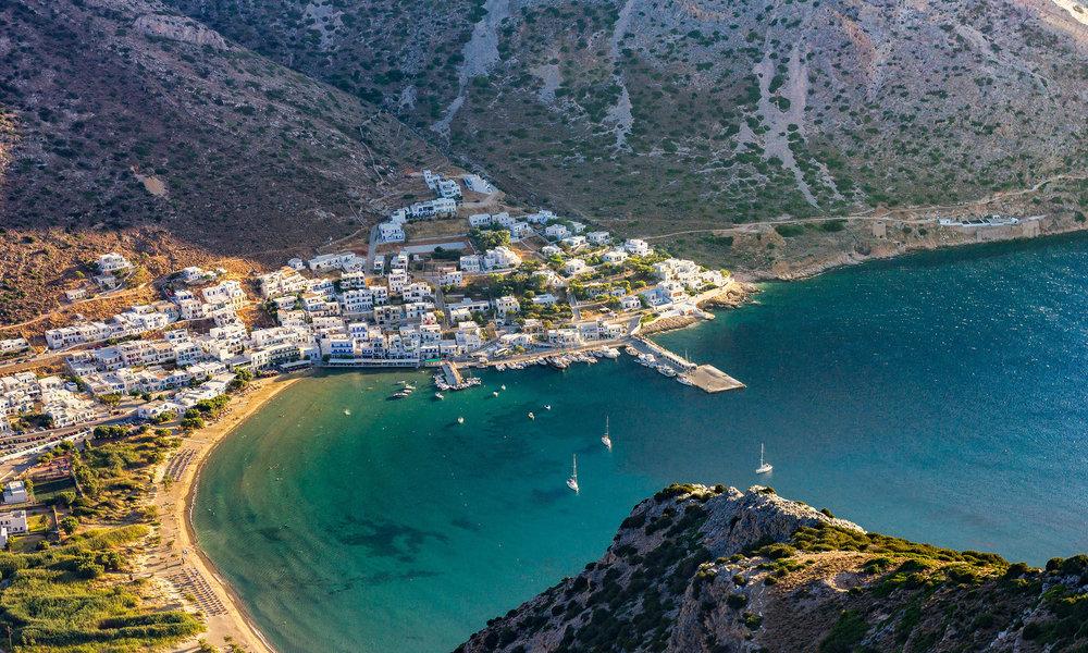 Santorini, Greece. ©Anthony Delanoix