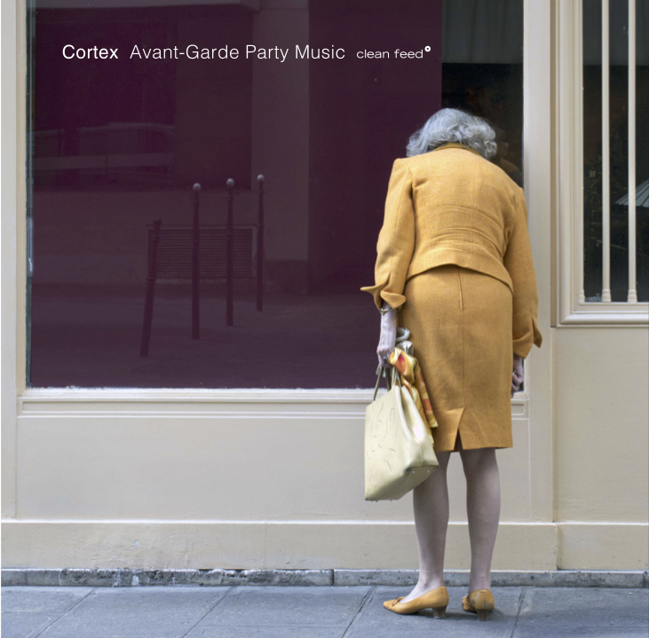 "Avant-Garde Party Music Clean Feed Records CF441CD   Cortex? No, this isn't jazz of the cerebral kind – even considering that the approach in ""Avant-Garde Party Music"" is very much the intelectual one coming from the bebop / hard bop era (when the music seated its users, inviting them to listen and not prioritarily to dance) and approaching our times through the free jazz evolutive line. Avant-garde the music certainly is, but you can still party with it, because this record grooves and swings like hell. Not in the conventional way, of course, but giving a chance to your temptation to shake the body. Having the transitional years going from bop to free as reference, it's natural that you find on these tracks the influence of what Ornette Coleman did with Don Cherry. But this isn't as simple as that: Cortex is a Scandinavian band and as such the music has a twist, the same you've found before in groups like The Thing, Atomic and The Core: a sort of hyper-realism, turning this jazz born in Europe even more ""authentic"" than the American original."