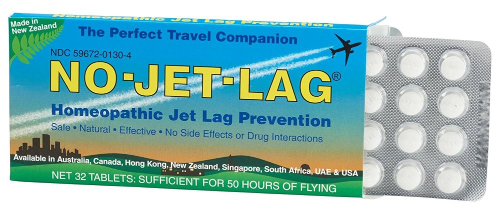 NO-JET-LAG Pills - Helps to alleviate body stress and fatigue due to disruptions in the body's natural clock rhythm.
