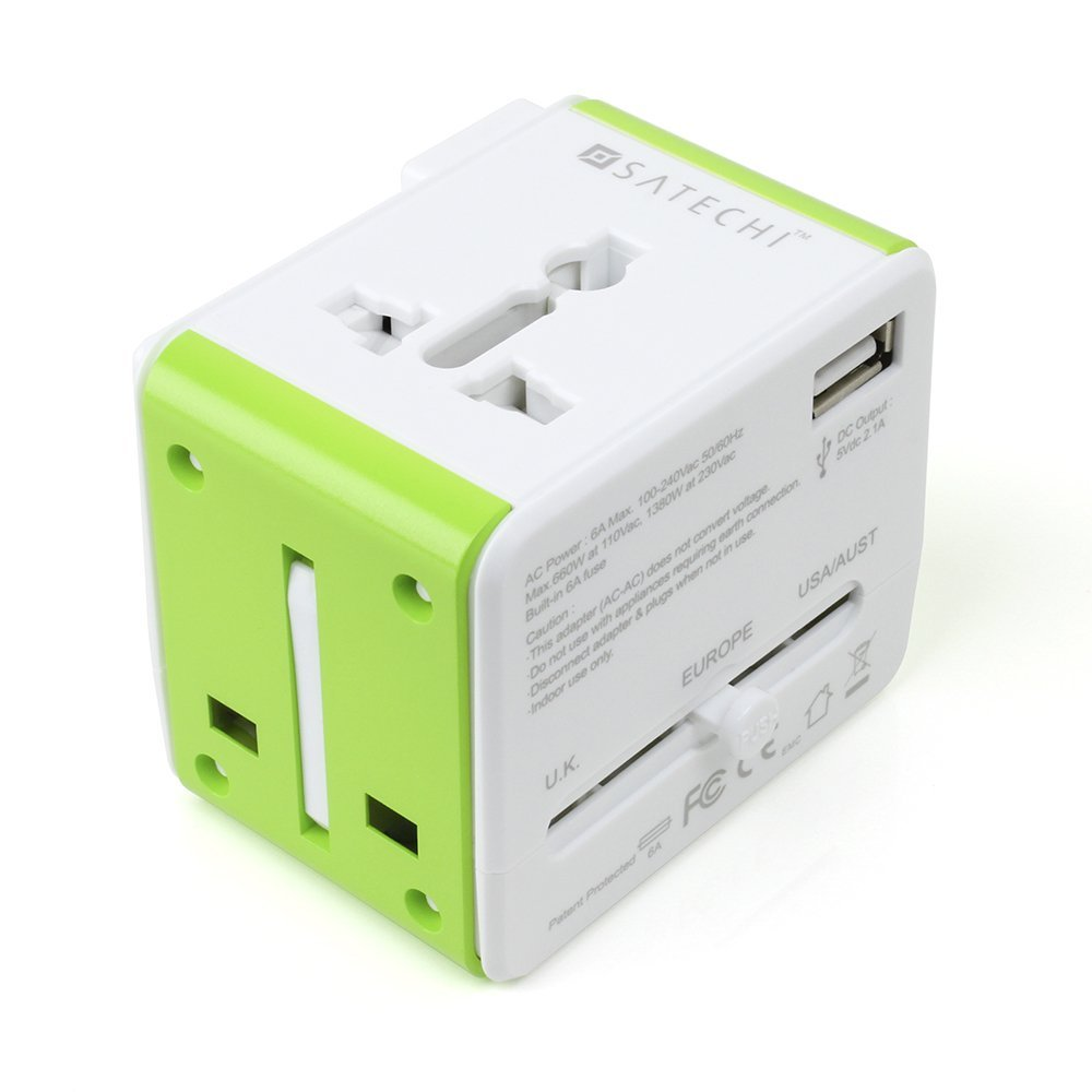 Travel Router - The Satechi Smart Travel Router / Travel Adapter with USB Port adapts to fit into four of the most common plug configurations used around the world and features four different modes for your wireless networking needs. Two options provide charge your device: an AC power port and a USB port. This compact adapter is convenient for charging smartphones, laptops, music players, cameras, e-readers, handheld game consoles, tablets, and other devices all around the world.