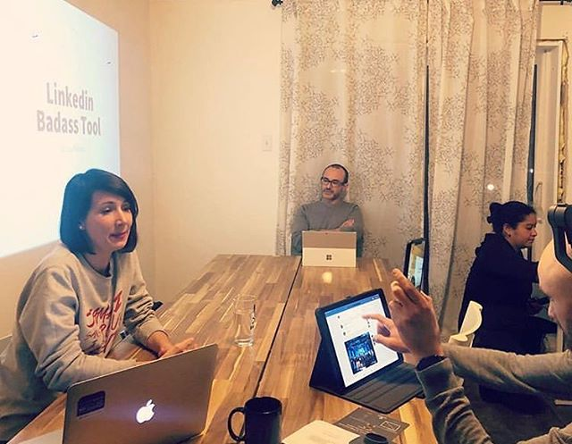 Workshops at @nomadcoliving - new #coliving and #coworking space in Montreal. 👩🏻💻👨🏽💻 Any @RemoteWorkers currently in Canada? Say Hi in the comments! ✌🏼🇨🇦 - - - #RemoteWorkers #Montreal #Canada #NomadColiving #Freelancers #DigitalNomads #Entrepreneurs #RemoteWork #WorkLife