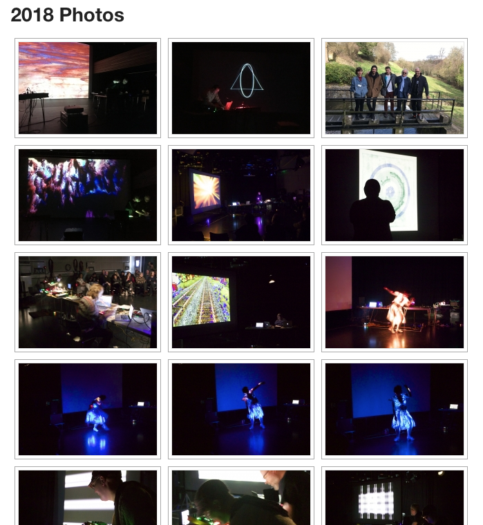Visit   http://www.seeingsound.co.uk/2018-photos/    to see photographs from Seeing Sound Symposium 2018