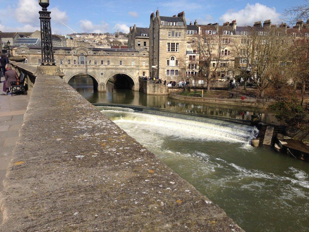 The beautiful city of Bath Spa