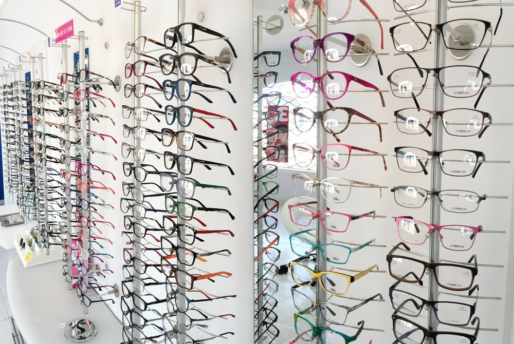our 3 for 1 offer on prescription glasses - For more information click here