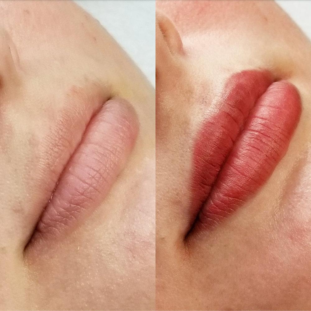 Lip Blushing 1