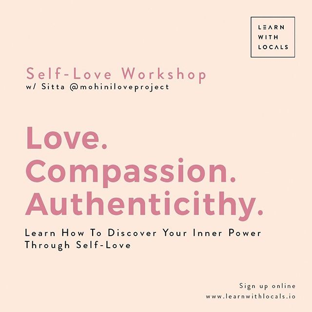 """""""What is the greatest lesson a woman should learn?"""" . """"that since day one she's already had everything she needs within herself it's the world that convinced her she did not!"""" - @rupikaur_ . . Join our Self-Love Workshop this Saturday October 27th with Sitta @mohiniloveproject & Medina @arsymedina 🧡 . . Sharpen your intuition and get to know yourself better in this 3 hour intensive self-love & awareness class! . Saturday October 27th 10:00 am - 1:00 pm IDR: 450k/person  Including personal self-love journal handmade by Sitta + sparking refreshments provided by @covitalife . . Location: Jl. Pantai Pererenan No.147, Pererenan, Mengwi, Kabupaten Badung, Bali @healthhubbali . . //Sign up through link in bio! LIMITED SPOTS AVAILABLE !!! //"""