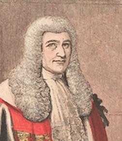 Lord Cranworth  Lord Chancellor b.1790, d. 1868