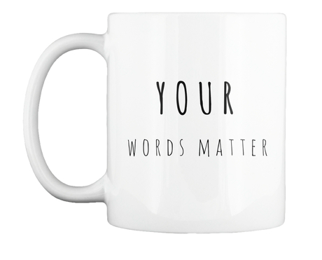 Let your students know that you are listening. This Rae Dunn inspired mug reminds those you work with that you hear and value their voices!