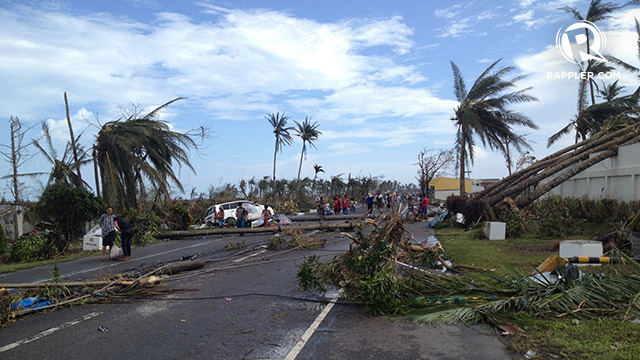 Post-Yolanda aftermath in Tacloban City