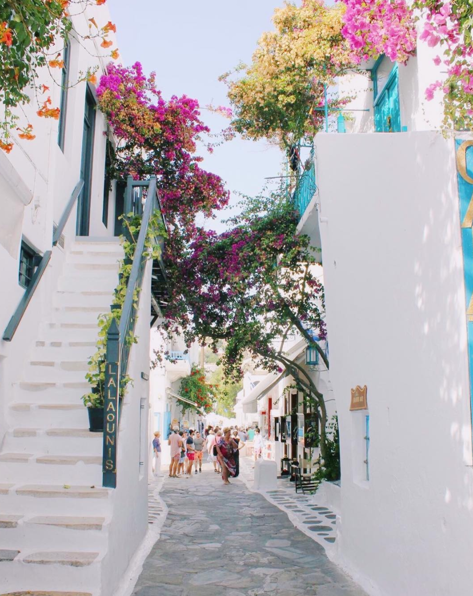 Mykonos, Greece - Who wouldn't want to get lost in the mazes of streets that make up this Greek island? Every staircase, corner and cobblestone seems photogenic enough to be a postcard, and the food is always served fresh. Other than fun in the sun – bare, if you dare – the island also has unique wineries and archaeological sites.
