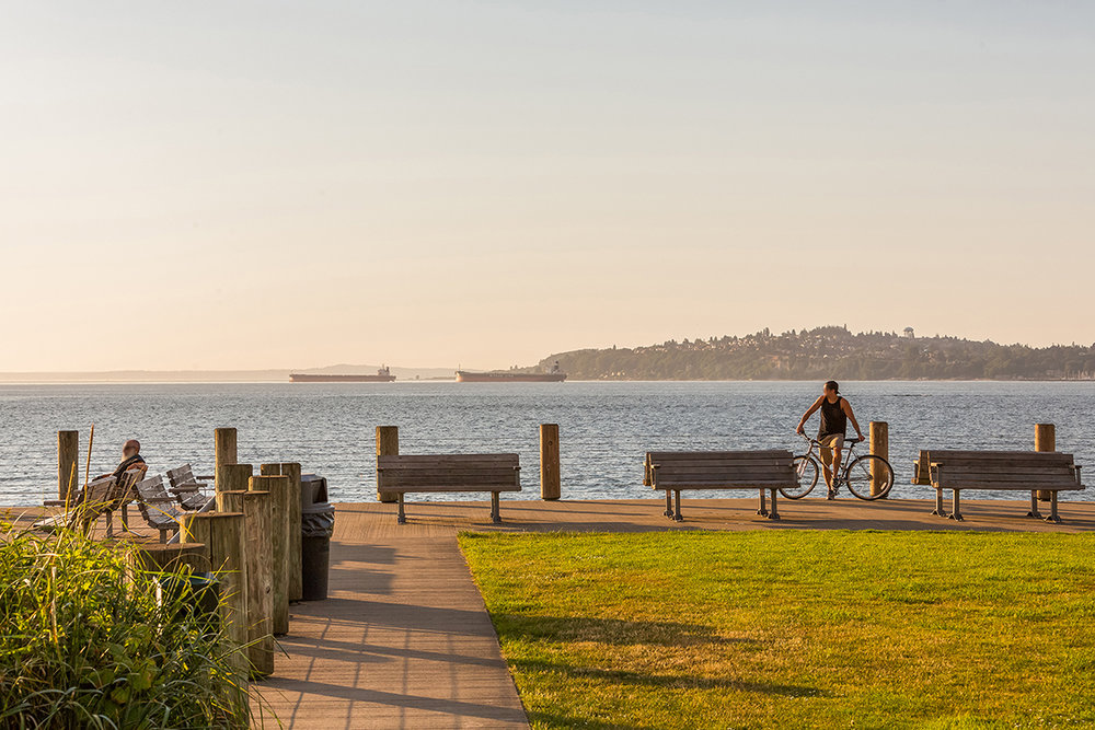 3 bedroom luxury condos in Seattle - condos with a  view- The Pinnacle at Alki