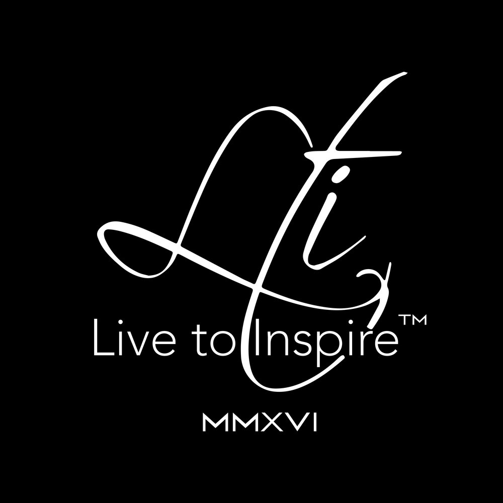 Together we can make a difference in people's lives simply by what we wear through our journey in life. This is inspiration in motion. This is Live To Inspire! ~ ©Live To Inspire