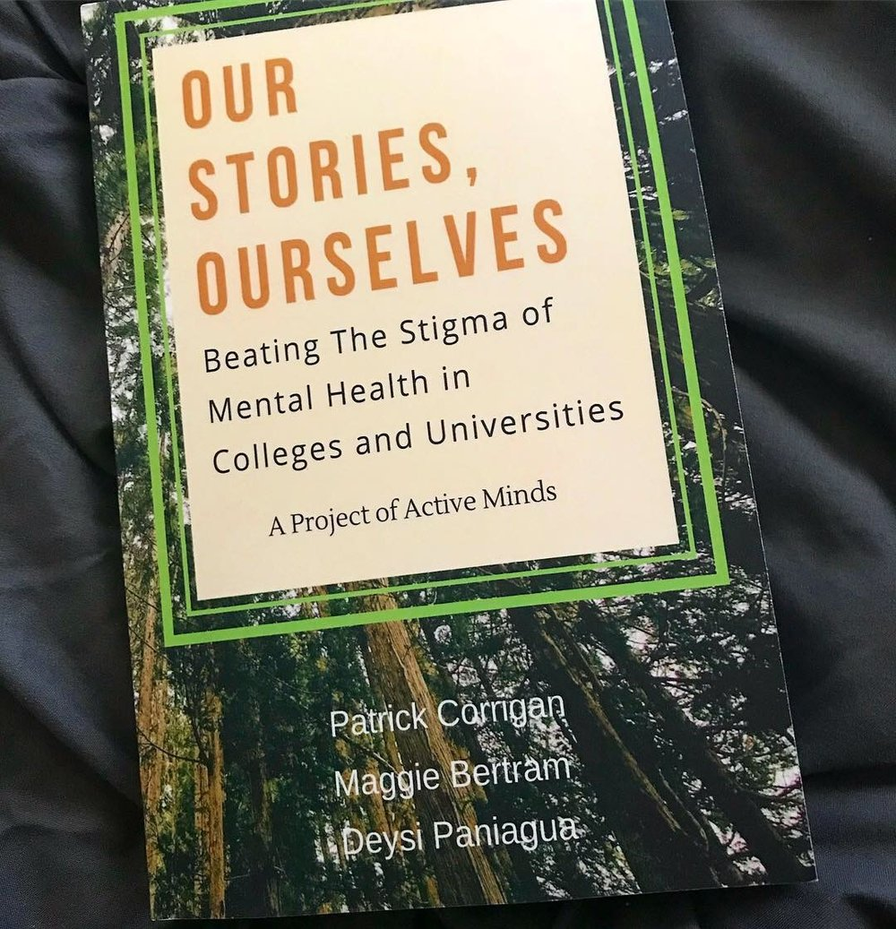 Our Stories, Ourselves: Infinite - Infinite is featured in the publication Our Stories, Ourselves, a book that outlines the journeys of several college students navigating life, and college, with a mental illness.
