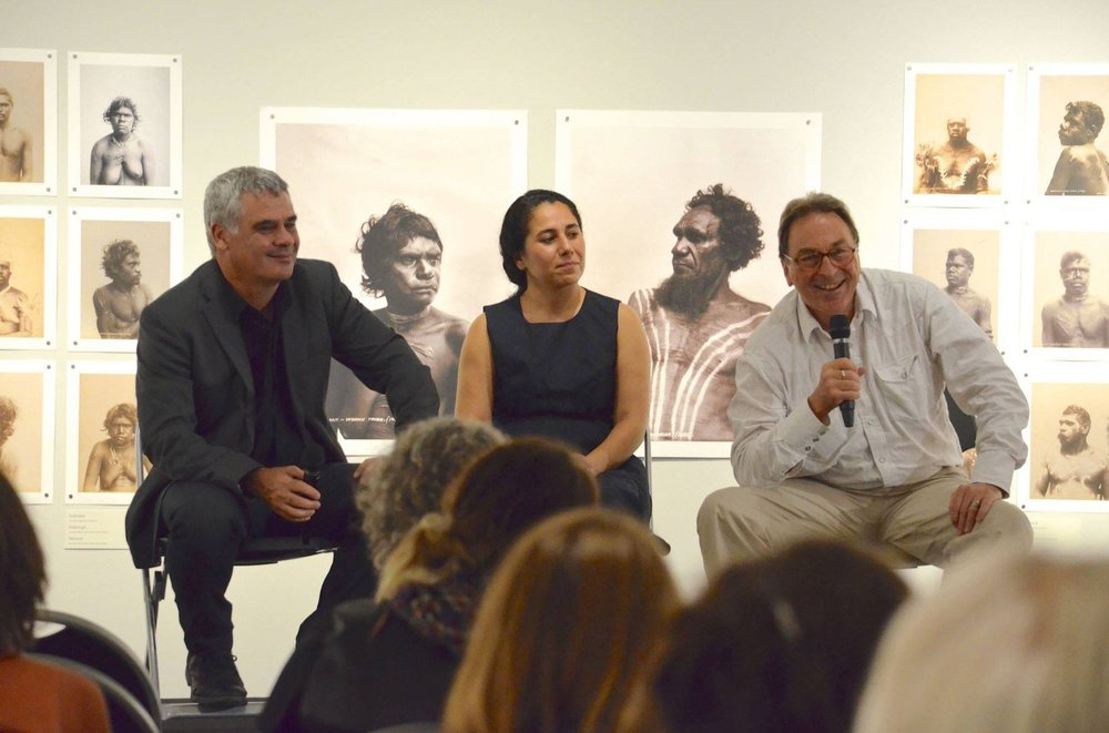 University of Queensland Anthropology Museum - Michael Aird, Mandana Mapar, Professor Paul Memmott