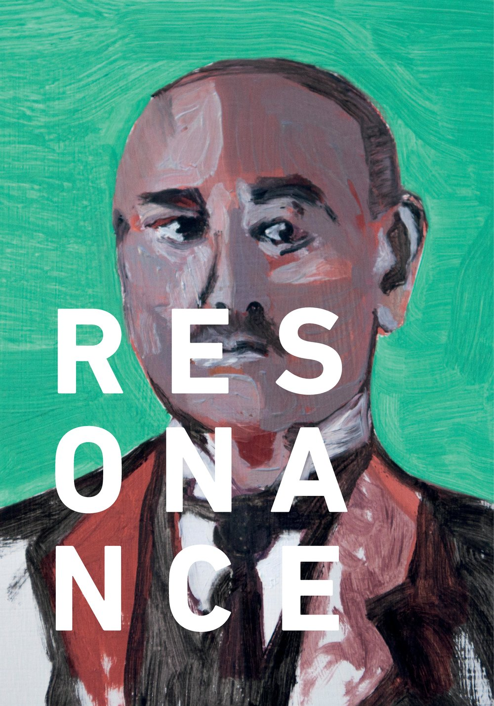 Resonance exhibition catalogue cover