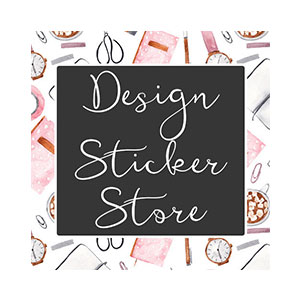 DESIGN STICKER STORE    50% OFF $10+