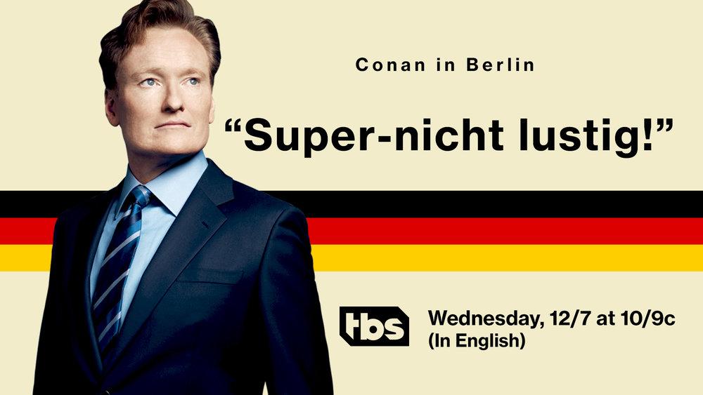 """Translation: """"Super not funny!"""""""