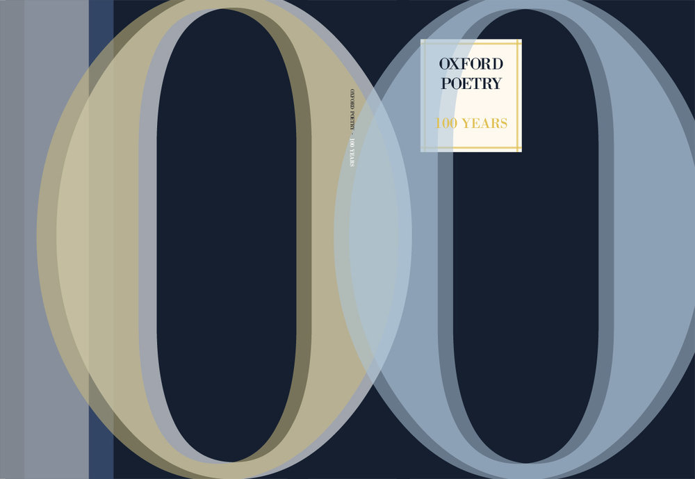 Outer cover, Oxford poetry 100 year special edition, 2014