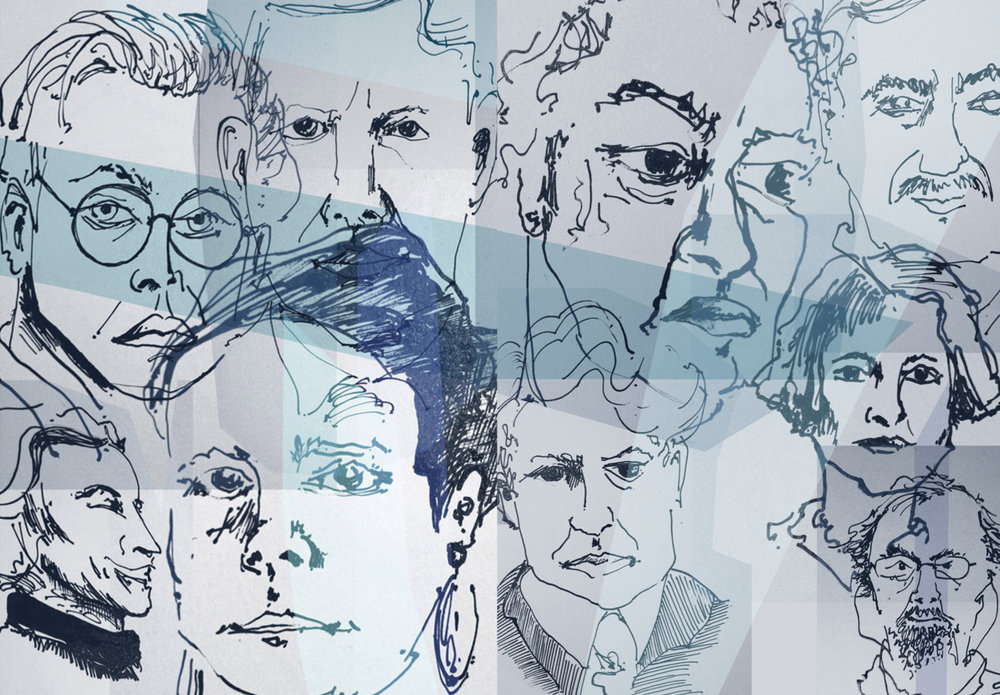 Inner cover, Oxford Poetry 100 year special edition, 2014