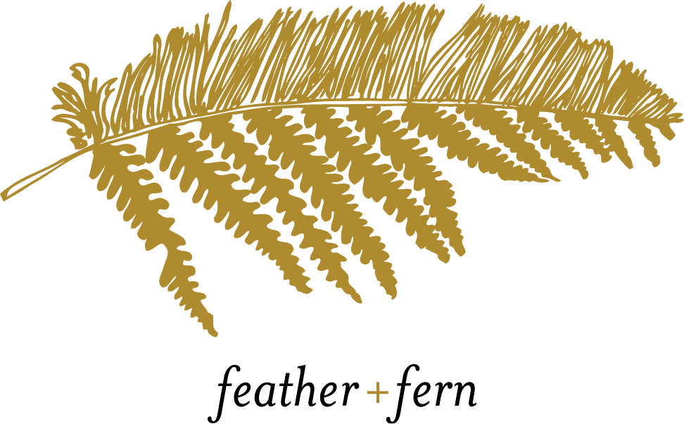 feather & fern design