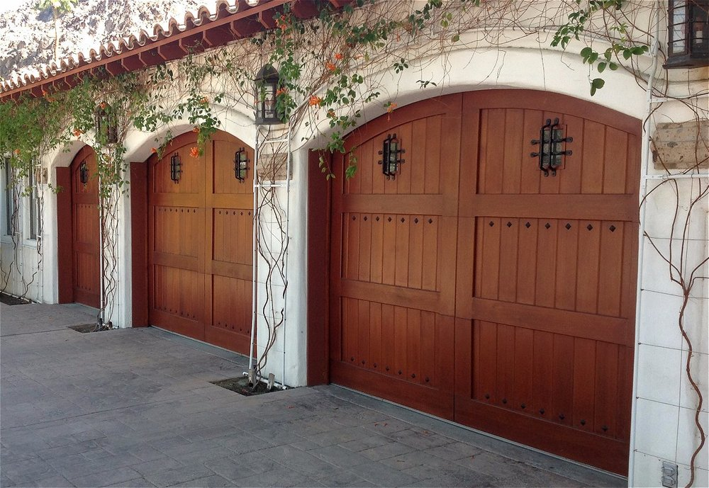 Wood. Wood Garage Doors ...
