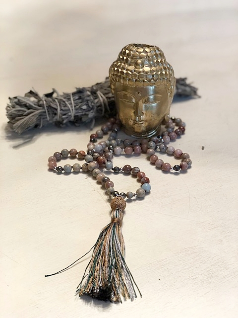 Mala beads by  Alchemist Treasures .