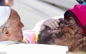 Pope Francis Healing Touch