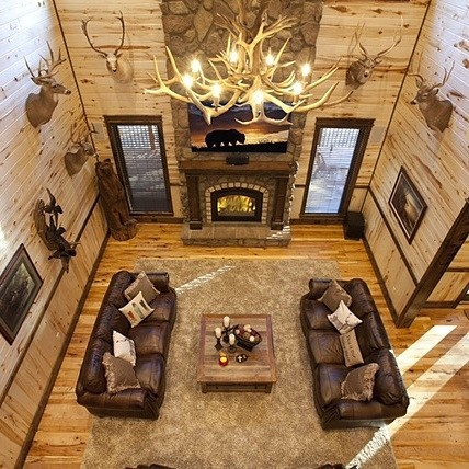 Book your stay soon at Call It A Day luxury cabin. See more at www.brokenbowlakewoodluxurycabins.com.