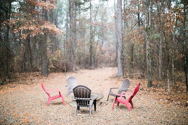 Tag someone you'd rather be sitting here with.  #copperhideout #oklahomavacations #oklahomaluxurycabins #beaversbend #oklahomadestinations #hochatime