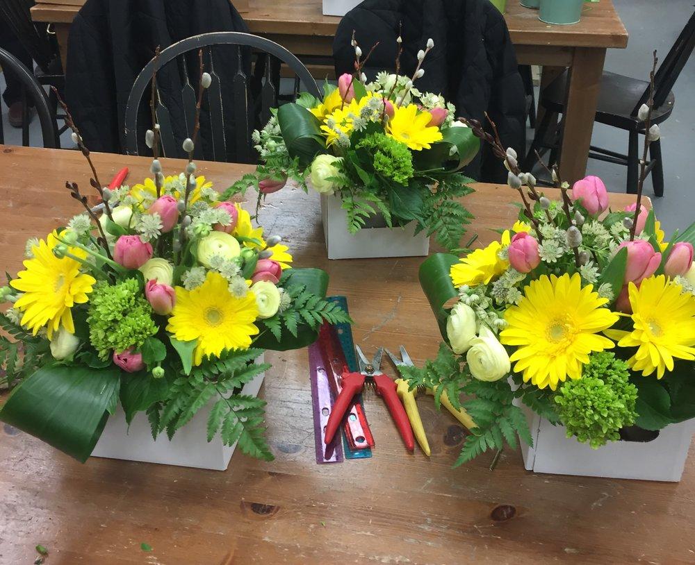 Budding Talents Flower Arranging Workshops -