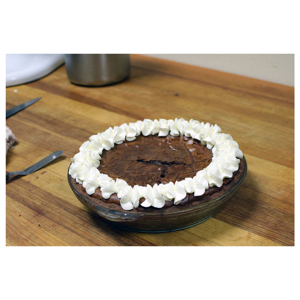 Chocolate Pie Picture -