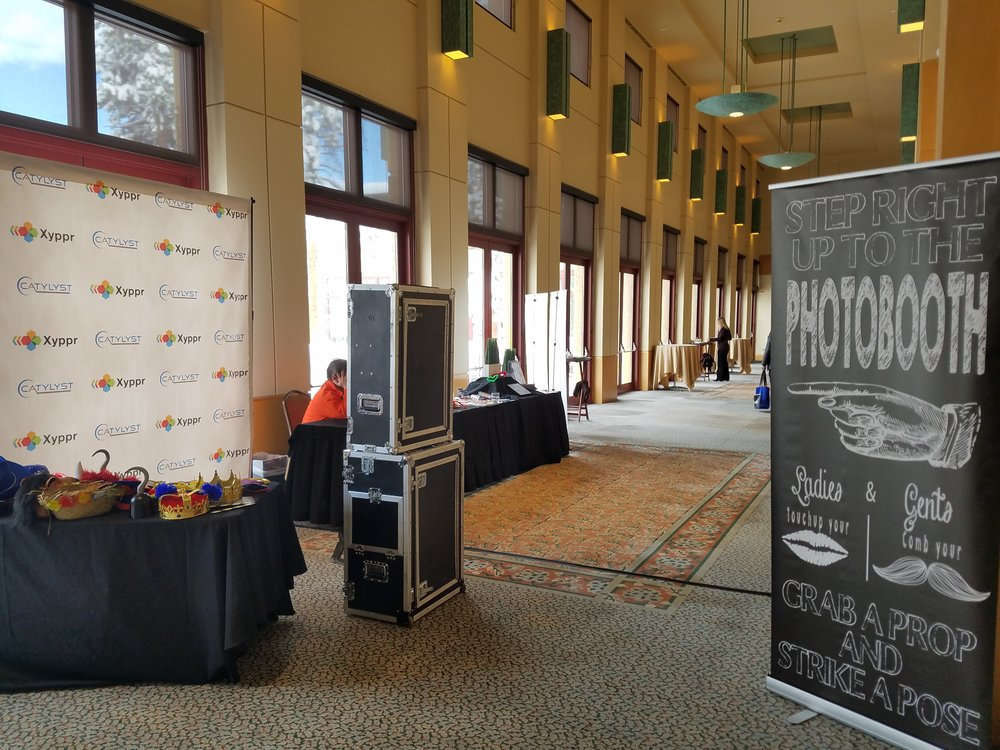 Flexible Setup Options - Our Open Air Setup Lets us Setup in a wide variety of locations. Homes, Venues, Business's, Indoors or Outdoors, Schools & More