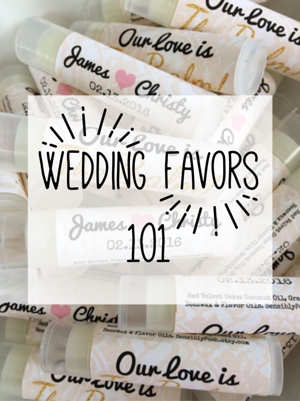 Wedding Favors 101 — IndyBride2B