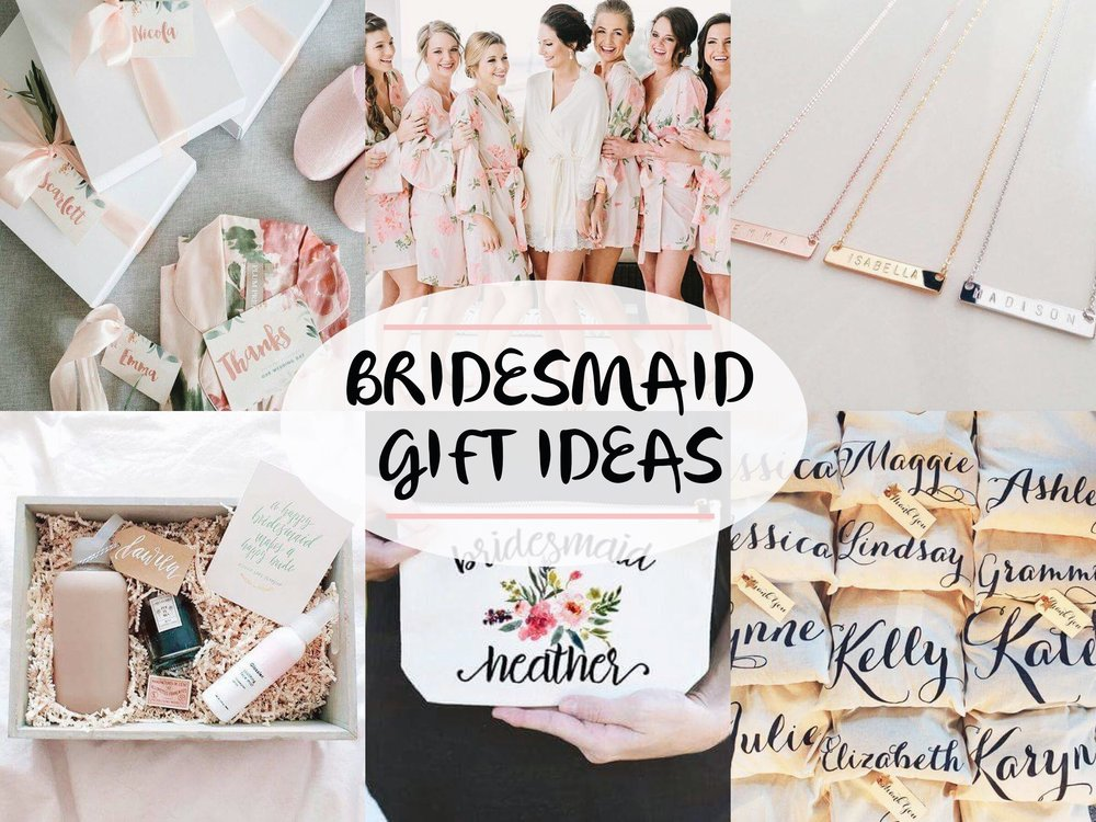 Wedding Gifts From Bridesmaids: Bridesmaid Gift Ideas