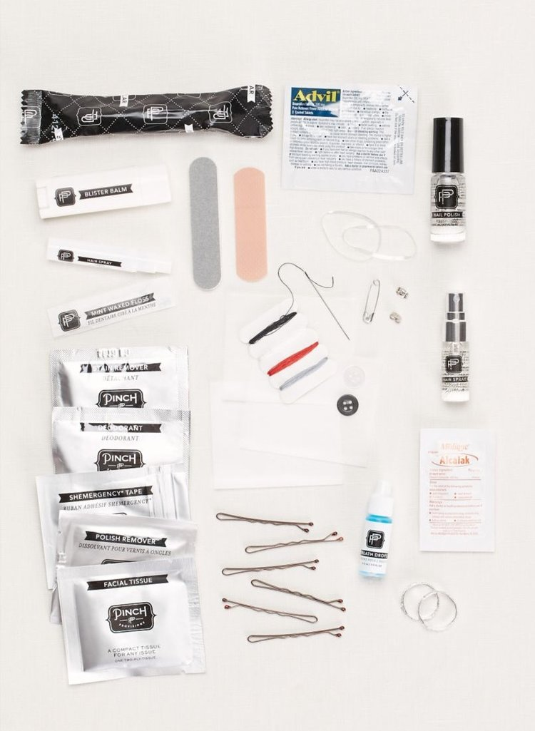 Wedding day emergency kit indybride2b yourself and put together a bag for your kit then here are some places online that you can purchase your own pre packed wedding day emergency kit solutioingenieria Choice Image