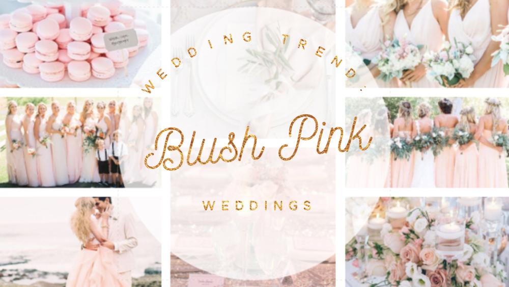 Wedding Trend Blush Pink Weddings Indybride2b