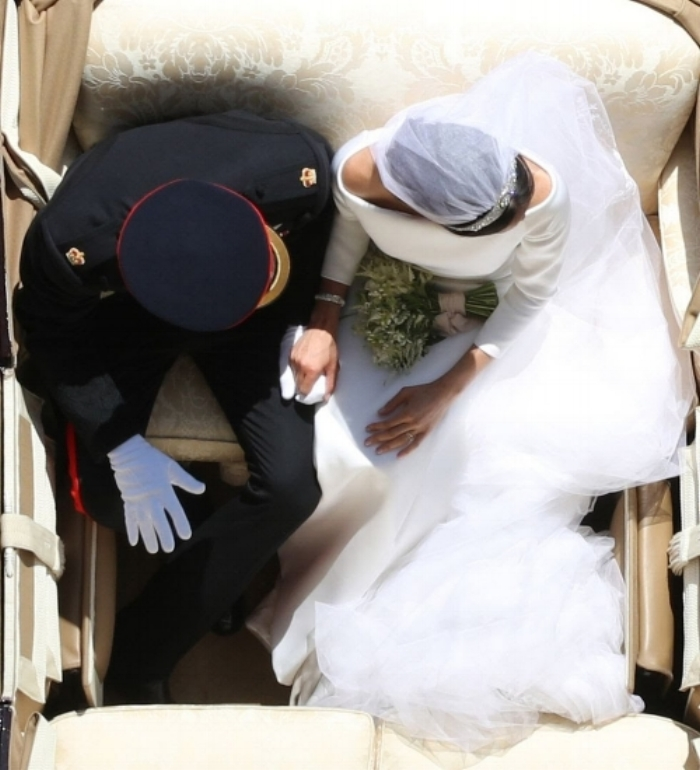 "GETTY / PA / YUI MOK | This photo is now being called ""Princess Diana's View"""