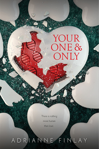 Happy book birthday to YOUR ONE & ONLY by Adrianne Finlay! - Jack is a walking fossil. The only human among a sea of clones. It's been hundreds of years since humanity died off in the slow plague, leaving the clones behind to carry on human existence. Over time they've perfected their genes, moving further away from the imperfections of humanity. But if they really are perfect, why did they create Jack?While Jack longs for acceptance, Althea-310 struggles with the feeling that she's different from her sisters. Her fascination with Jack doesn't help. As Althea and Jack's connection grows stronger, so does the threat to their lives. What will happen if they do the unthinkable and fall in love? Perfect for fans of DELIRIUM and NEVER LET ME GO, YOUR ONE & ONLY is a powerful YA debut novel set in the near future about the only human boy in a world populated by 9 clone models and the girl who falls in love with him.