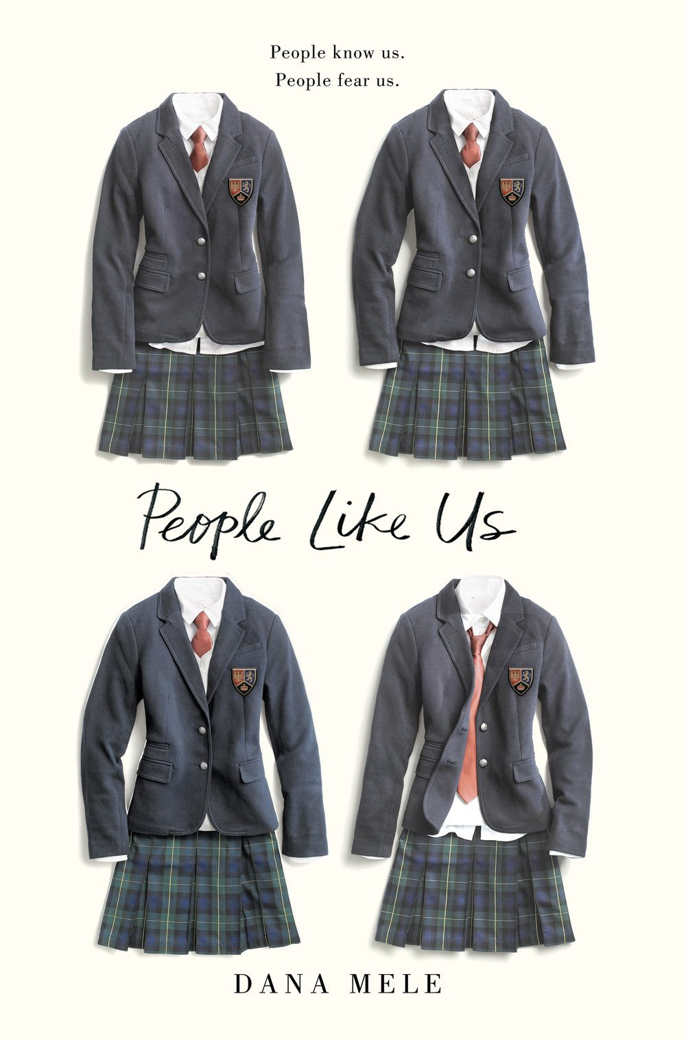 Happy book birthday to PEOPLE LIKE US by Dana Mele! - A sharp psychological thriller that's just right for fans of Thirteen Reasons Why and Pretty Little Liars--this story will seduce, mislead, and finally, betray you.Kay Donovan may have skeletons in her closet, but the past is past, and she's reinvented herself entirely. Now she's a star soccer player whose group of gorgeous friends run their private school with effortless popularity and acerbic wit. But when a girl's body is found in the lake, Kay's carefully constructed life begins to topple. The dead girl has left Kay a computer-coded scavenger hunt, which, as it unravels, begins to implicate suspect after suspect, until Kay herself is in the crosshairs of a murder investigation. But if Kay's finally backed into a corner, she'll do what it takes to survive. Because at Bates Academy, the truth is something you make...not something that happened.Debut author Dana Mele has written a taut, sophisticated suspense novel that readers will tear through and not stop talking about.