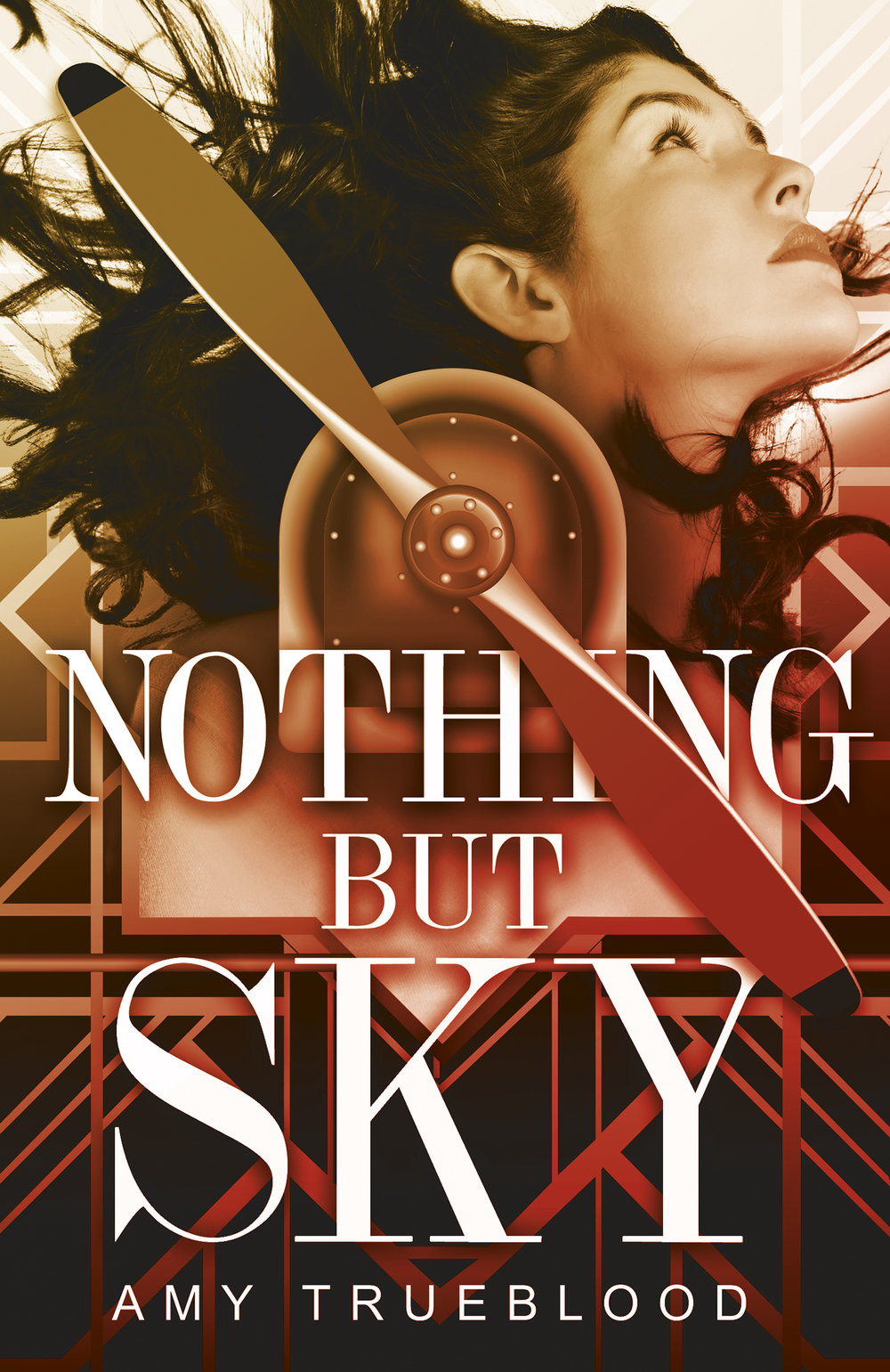 Happy book birthday to NOTHING BUT SKY by Amy Trueblood! - Grace Lafferty only feels alive when she's dangling 500 feet above ground. As a post-World War I wing walker, Grace is determined to get to the World Aviation Expo, proving her team's worth against flashier competitors and earning a coveted Hollywood contract.No one's ever questioned Grace's ambition until Henry Patton, a mechanic with plenty of scars from the battlefield, joins her barnstorming team. With each new death-defying trick, Henry pushes Grace to consider her reasons for being a daredevil.Annoyed with Henry's constant interference, and her growing attraction to him, Grace continues to test the powers of the sky. After one of her risky maneuvers saves a pilot's life, a Hollywood studio offers Grace a chance to perform at the Expo. She jumps at the opportunity to secure her future.But when a stunt goes wrong, Grace must decide whether Henry, and her life, are worth risking for one final trick.
